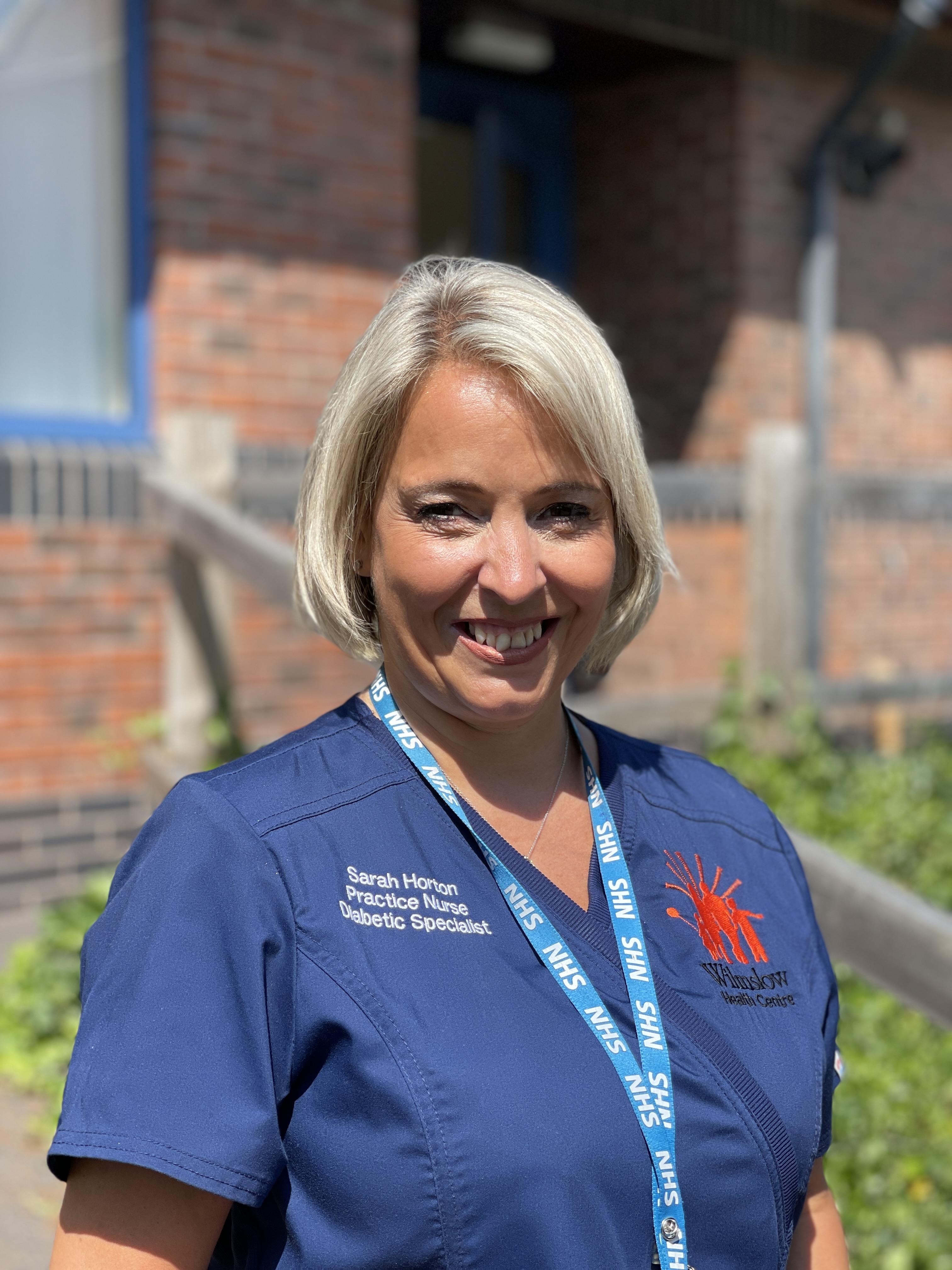 Sarah Horton Practice Nurse